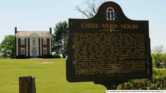Chief Vann House Historic Site : Vann House State Historic Site