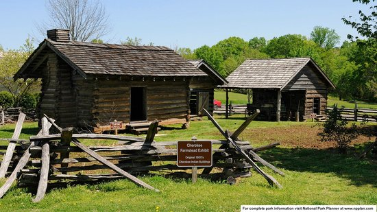 Chief Vann House Historic Site: Outbuildings typical of the Vann House era