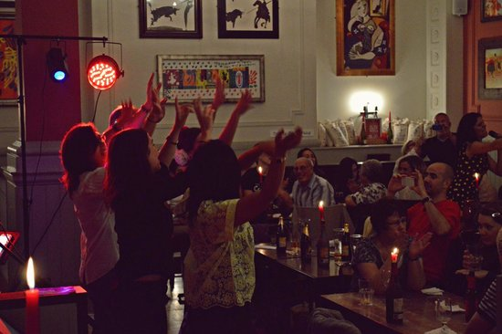La Tasca Bath: flamenco night