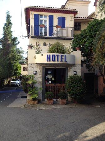 Hotel Villa La Malouine: Façade explicite