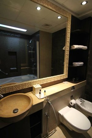 Arabian Park Hotel: Bathroom view
