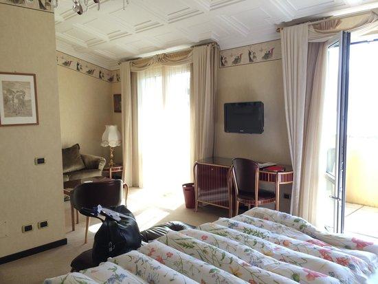Grand Hotel Villa Serbelloni : Spacious room 411