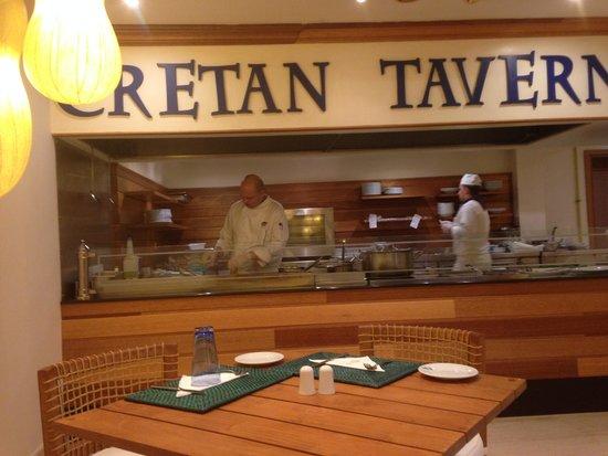 Mitsis Laguna Resort & Spa: one of restaurants