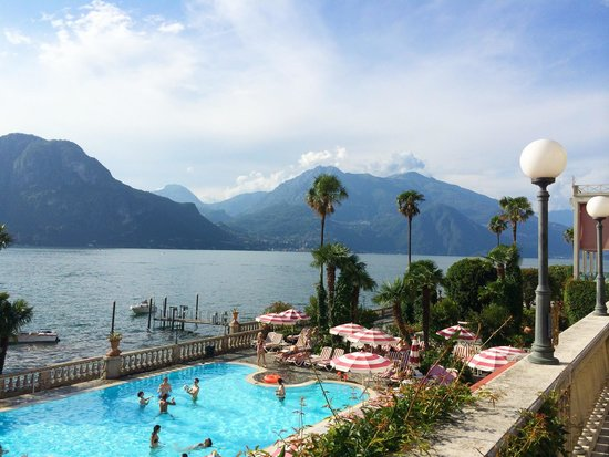 Grand Hotel Villa Serbelloni: Pool area