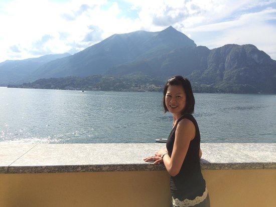 Grand Hotel Villa Serbelloni: View from room 411
