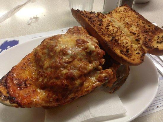 Maine Diner: Meat Lasagna Special