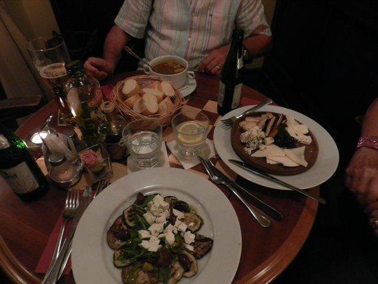 Spinoza Cafe : antipasti