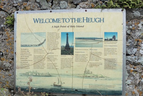 Lindisfarne Priory: Information about the Heugh
