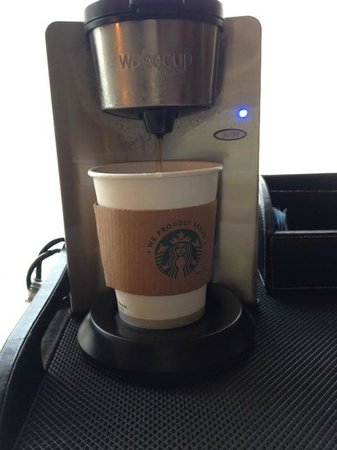 The Westin Georgetown, Washington D.C.: In Room Coffee Selection