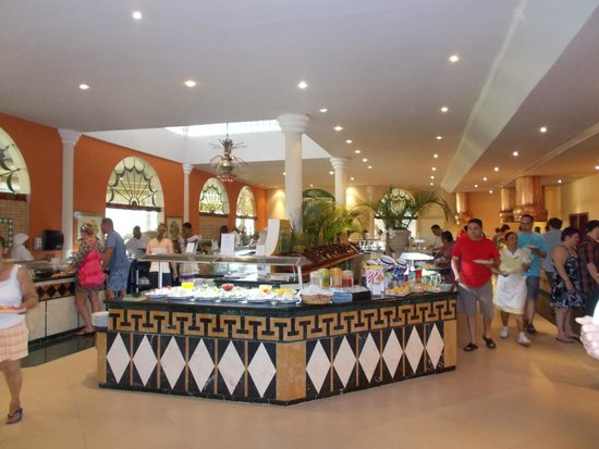 Iberostar Costa Dorada : The dining area