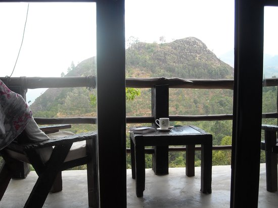98 Acres Resort : vue sur le little adampeak