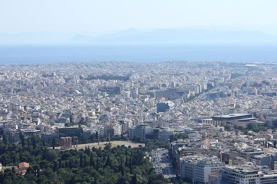 Mount Lycabettus : Zeus Olympian
