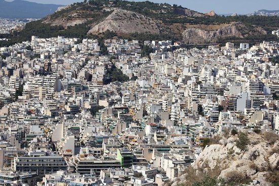 Mount Lycabettus : View from Licabeto