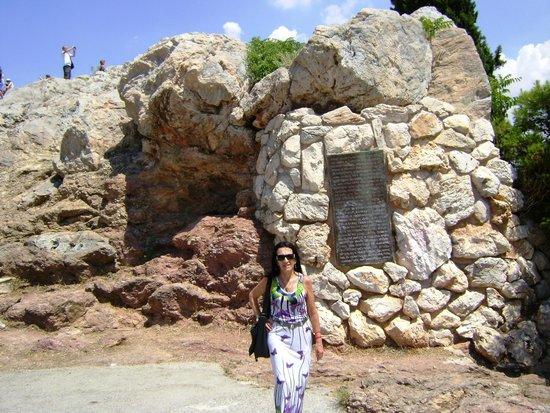 Parthenon: roca en que san Pablo quiso cristianizar