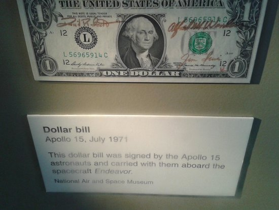 Smithsonian Institution Buidling: Dollar to Space and back