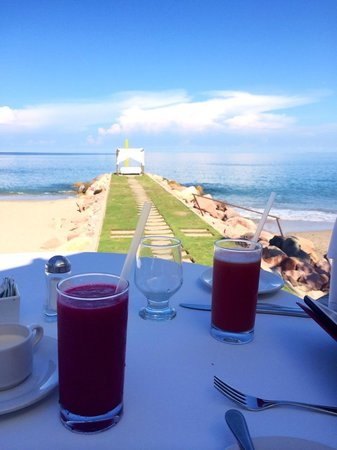 Villa Premiere Boutique Hotel & Romantic Getaway: View from our breakfast table