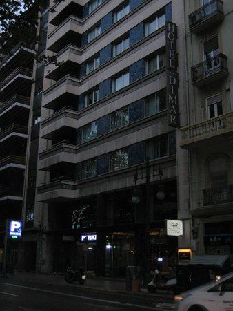 Hotel Dimar : palazzo hotel da esterno