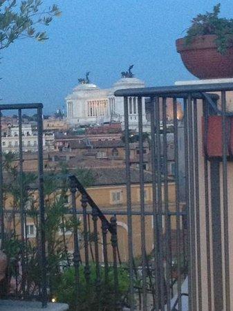 Boutique Hotel Campo de Fiori: hotel roof top