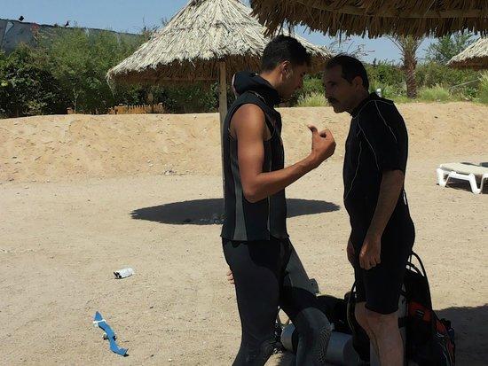 Aqaba Adventure Divers Village : before diving