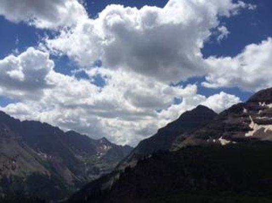 Buckskin Pass: View from summit to southwest