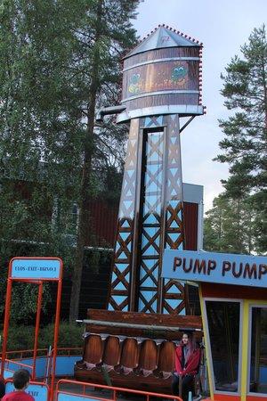 Tykkimäen Huvipuisto: Свободное падение с 6 метров