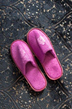Dorsia Hotel & Restaurant: Nice slippers