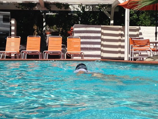 Mojave Resort: Me in the pool at Mohave Resort!