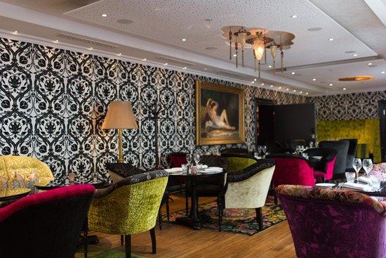 Dorsia Hotel & Restaurant: Lounge area