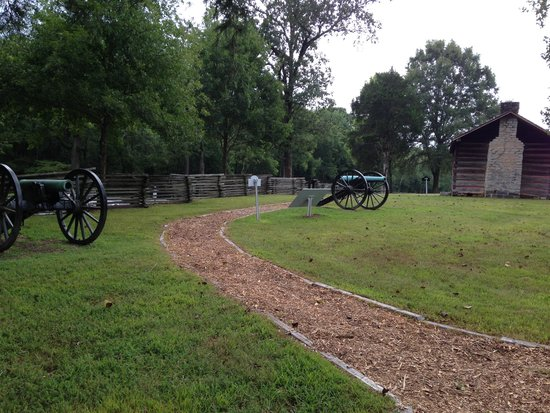 Chickamauga Battlefield: Typical Battle Site