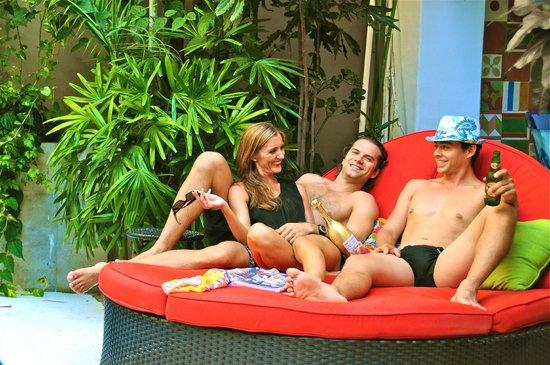 Villa Mercedes Petit Hotel: Pool