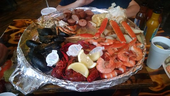 The Crab Shack: Meal for Two