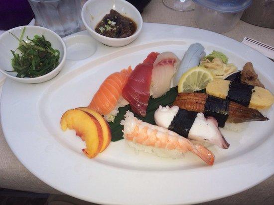 Naka : Menú sushi