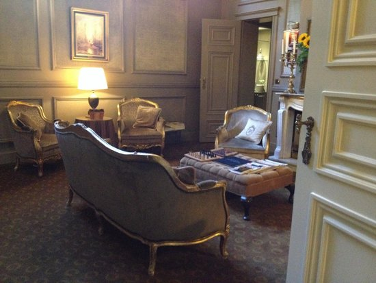 Hotel Heritage - Relais & Chateaux: Lounge area