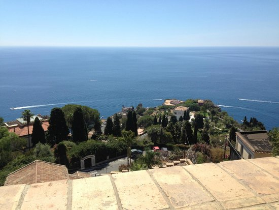 Hotel Villa Carlotta: Vista dalla terrazza