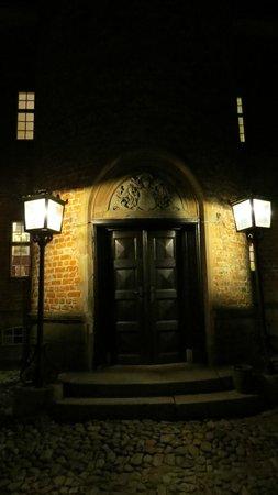Gudme, Denmark: tower entrance
