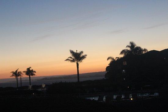 Seascape Resort : mais uma bela paisagem.. entardecer..