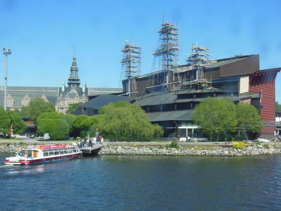 Vasa-Museum: The design of the Vasa Museum is outstanding