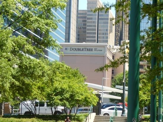 DoubleTree by Hilton Hotel Atlanta Downtown: vanuit olympic parc