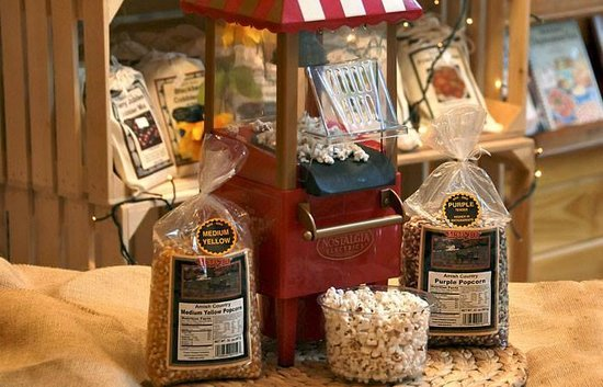 Mmmm Popcorn Picture Of Taste Of Amish Blue Ridge