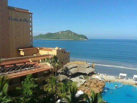 Costa de Oro Beach Hotel : desde el balcon
