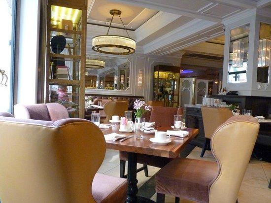 Hotel Monteleone : Breakfat lounge