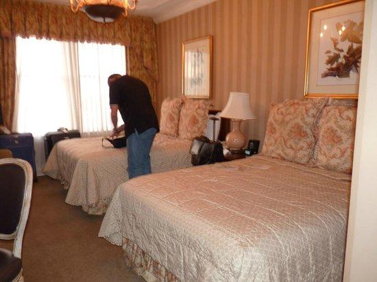 Hotel Monteleone : Scarcy room