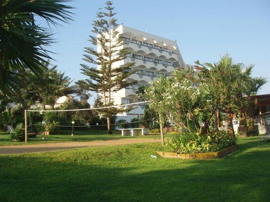 Crystal Springs Beach Hotel: спортивная площадка