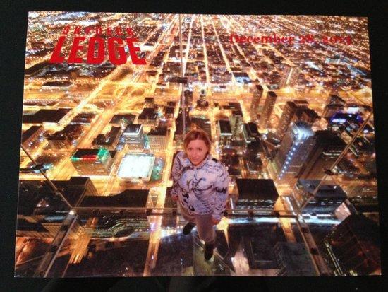 Skydeck Chicago - Willis Tower : 103й этаж Willis T