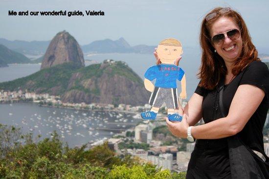 Rio Plus Tours: Valerie at Dona Marta