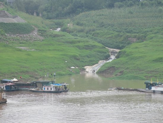 Yangtze River: View from our stateroom