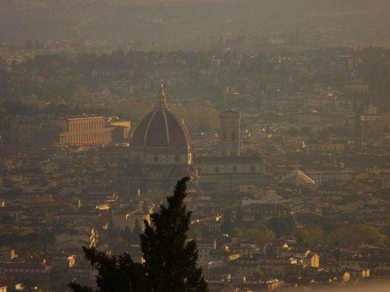 Villa dei Bosconi : Vista de Firenze desde Fiesole