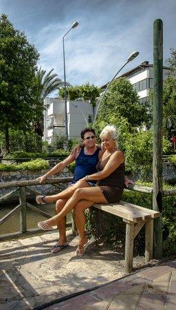 Green Nature Resort & Spa: Ismelir vlak bij marmeris(Heeft een mooier stand)