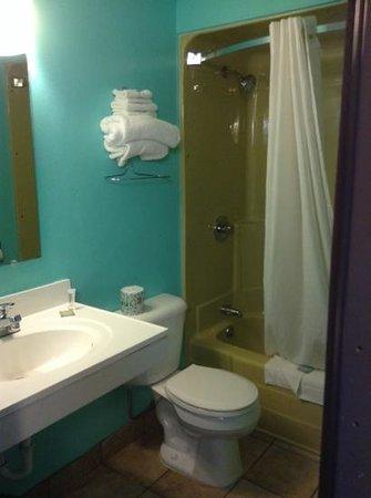 Super 8 Rapid City Rushmore Rd: bathroom