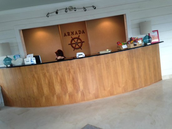 Armada By-the-Sea : Front Desk
